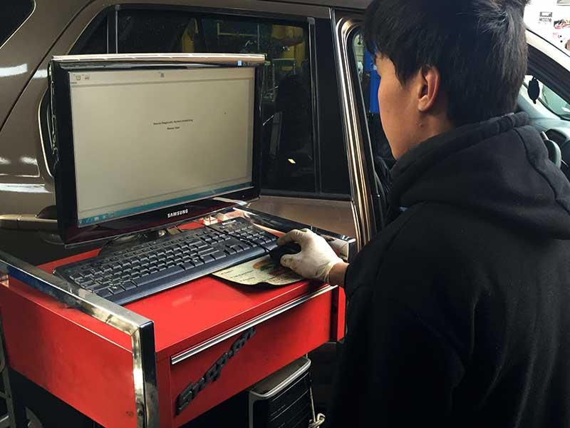 Honda diagnostic scanning